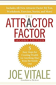 Attractor Factor Book by Dr. Joe Vitale