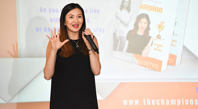 Grow Your Business and Become the Best Version of Yourself with Valerie Prasetyo