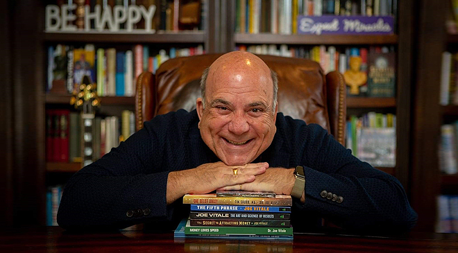 Dr. Joe Vitale, Featured in Navigating the Clickety-Clack